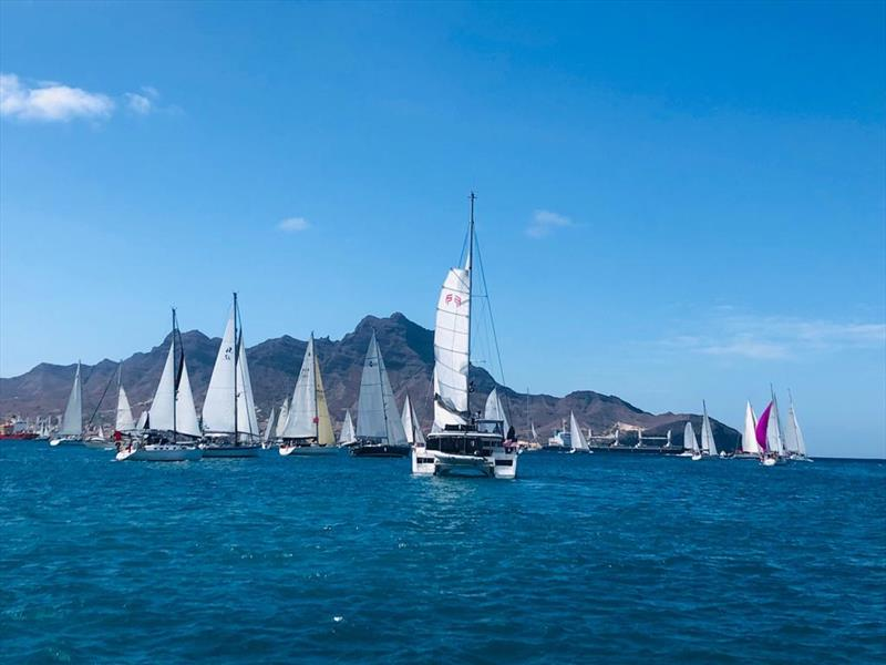 ARC  St Lucia - Start day for Leg 2 photo copyright World Cruising taken at  and featuring the Cruising Yacht class