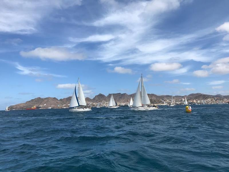 ARC  ST Vincent - Start day for Leg 2 photo copyright World Cruising taken at  and featuring the Cruising Yacht class