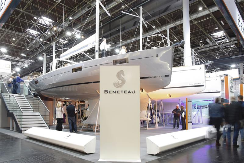 Ancasta Beneteau - boot Düsseldorf International Boat Show photo copyright Bernd Lauter taken at  and featuring the Cruising Yacht class