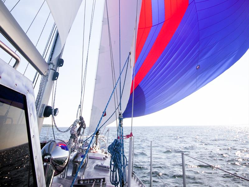 Passage Making  photo copyright Janice Hayward taken at  and featuring the Cruising Yacht class