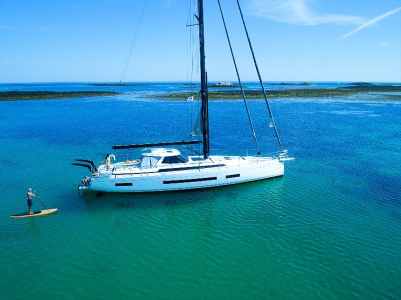 AMEL 60 photo copyright Easyride banc de sable taken at  and featuring the Cruising Yacht class