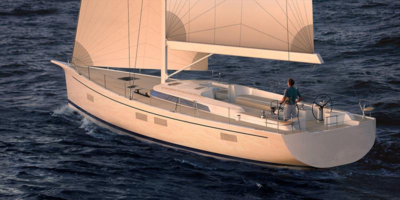 Hylas H60 yacht photo copyright Sand People taken at  and featuring the Cruising Yacht class