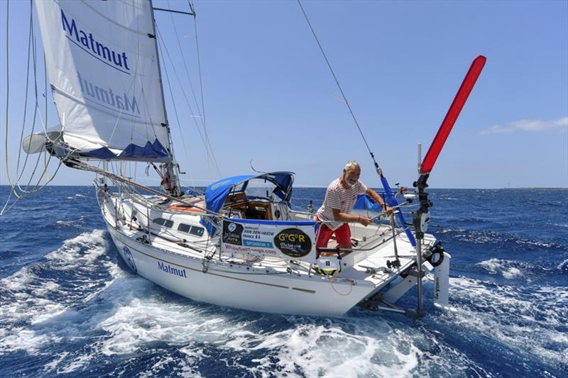 Jean-Luc Van Den Heede photo copyright Christian Favereau taken at  and featuring the Cruising Yacht class