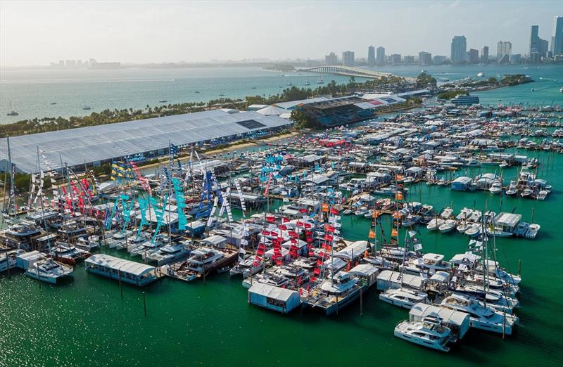2020 Miami International Boat Show  photo copyright Miami International Boat Show  taken at  and featuring the Cruising Yacht class