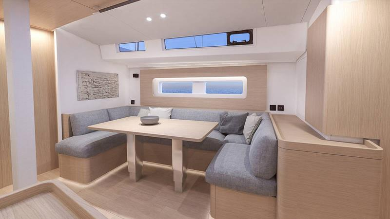 Oceanis Yacht 54 photo copyright Beneteau taken at  and featuring the Cruising Yacht class