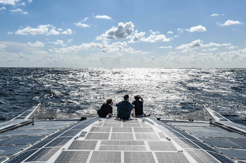 The crew of Energy Observer - photo © Amélie Conty