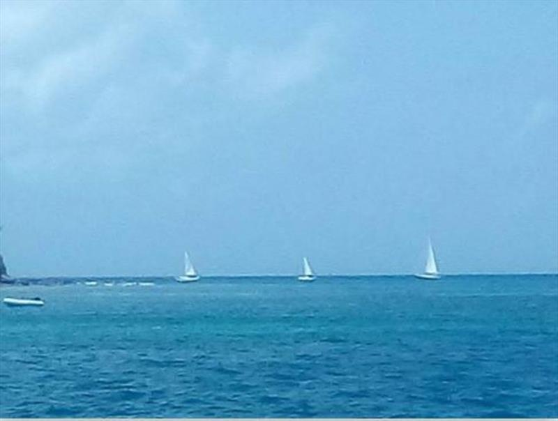The exodus from paradise has begun photo copyright Ocean Cruising Club taken at  and featuring the Cruising Yacht class