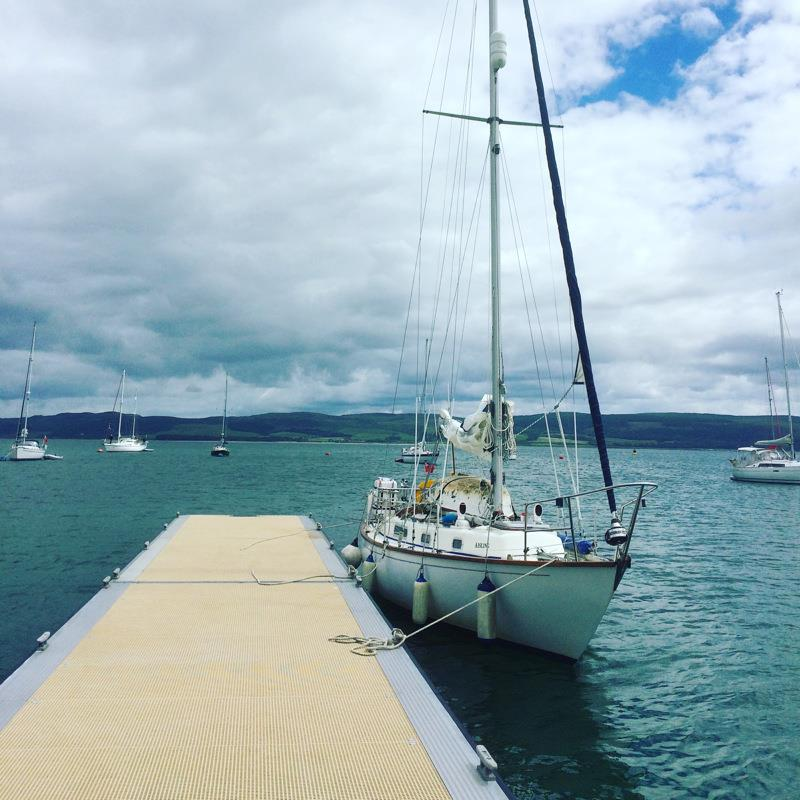 Circumnavigation of the Great Britain aboard Aisling photo copyright Dan Stroud taken at  and featuring the Cruising Yacht class