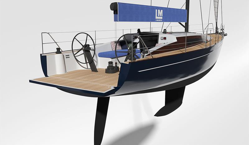 LM46 photo copyright Lyman-Morse Boatbuilding taken at  and featuring the Cruising Yacht class