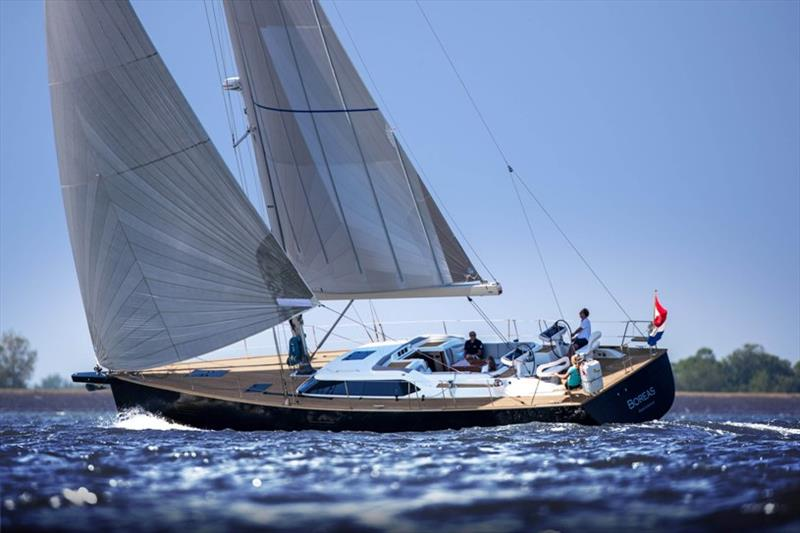 Contest 55CS sailing photo copyright Contest Yachts taken at  and featuring the Cruising Yacht class