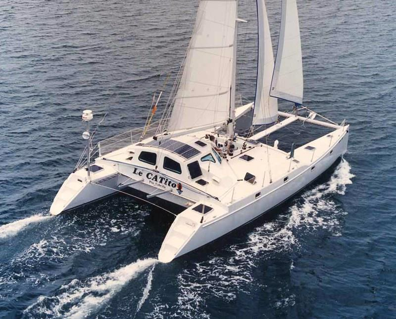 Atlantic 46 Catamaran, sister ship to One Tree Island. photo copyright Regina Ahrens taken at  and featuring the Cruising Yacht class