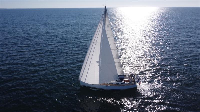 Code C Dufour 425 photo copyright Rolly Tasker Sails taken at  and featuring the Cruising Yacht class