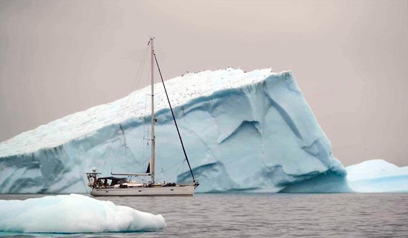 S/Y Vilja amongst Greenland's icebergs photo copyright Jon Petter Slungaard Myklebust taken at  and featuring the Cruising Yacht class