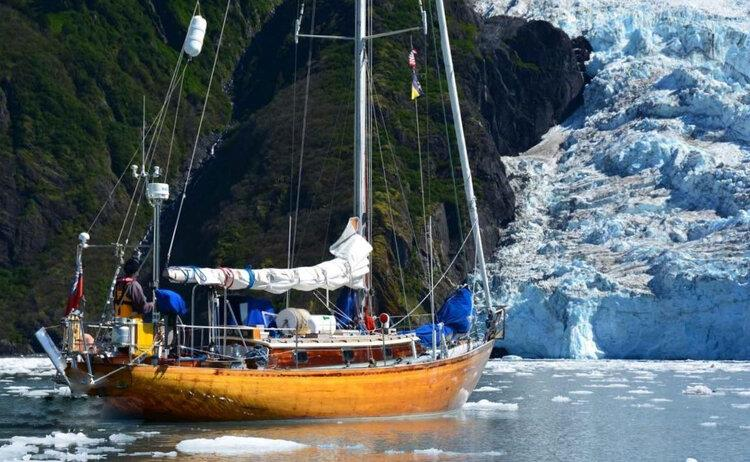 Sunstone photo copyright Southern Woodenboat Sailing taken at  and featuring the Cruising Yacht class