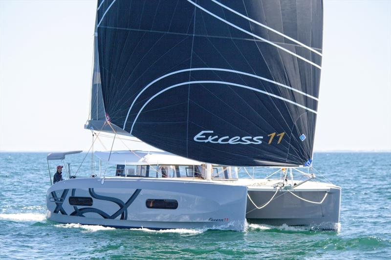 Excess 11 photo copyright Excess Catamarans taken at  and featuring the Cruising Yacht class