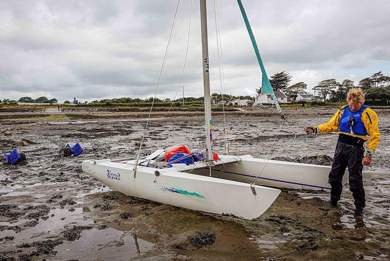 'North Island to Starboard' - Liam Thom sails around Britain in a 15ft catamaran - photo © Yvonne Pike