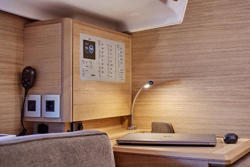 Elan E4 Interior - photo © Elan Yachts