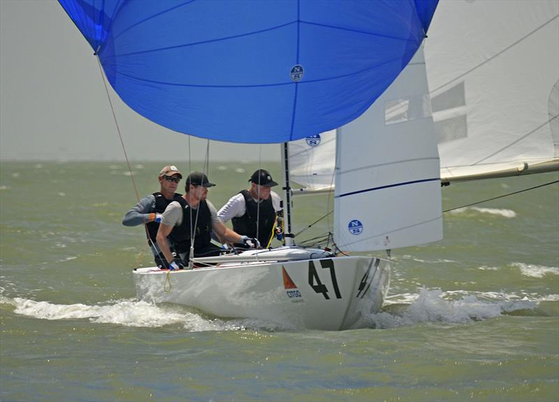 2019 Runners Up - Magpie - Graeme Taylor, James Mayo, Tom Slingsby - photo © 2019 Etchells World Championship