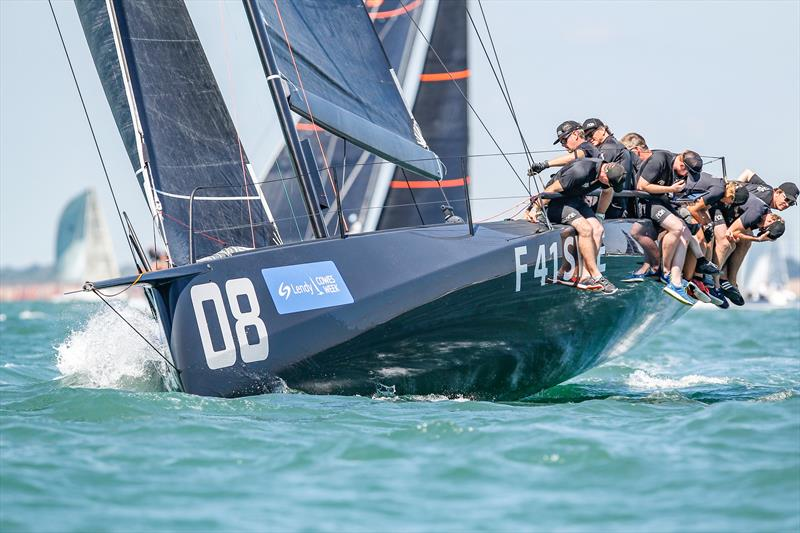 Ran won the Fast40 class short series by two points at Lendy Cowes Week - photo © Paul Wyeth / CWL