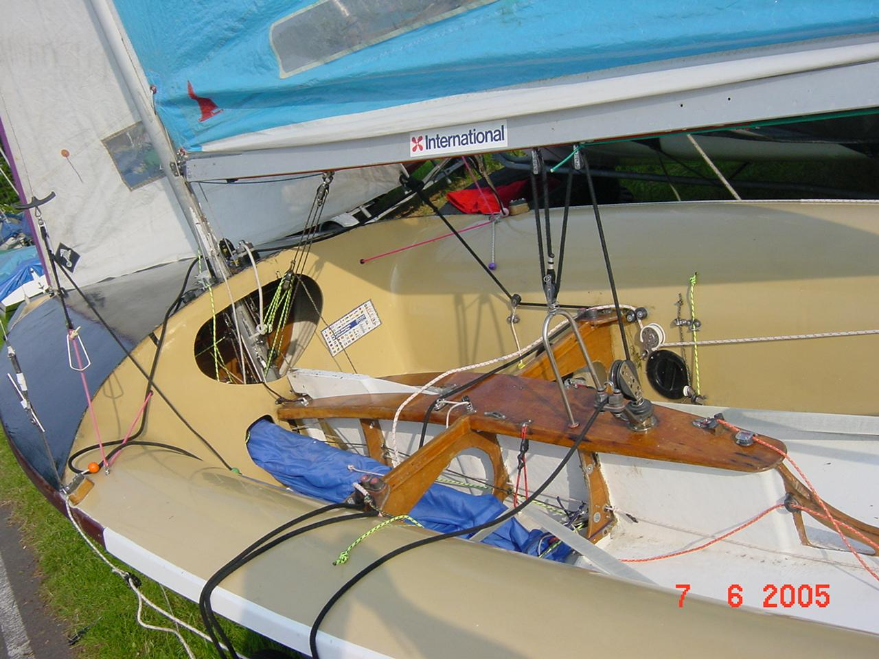 rigging a 505 - Yachts and Yachting Online Forum - Page 1
