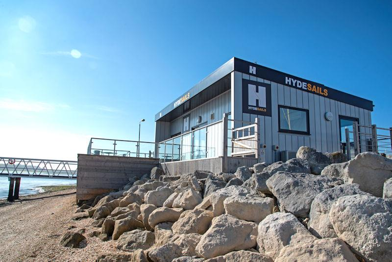 The new Hyde Sails Hamble River office - photo © Tim Sandall