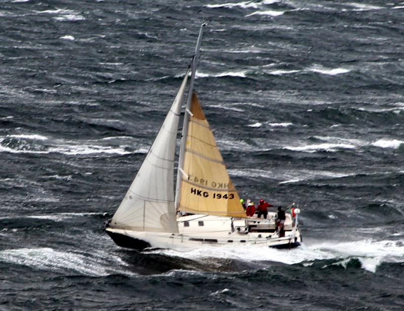 Zephyr sailed an excellent race in heavy weather conditions such as she did in the Channel Race. - photo © Peter Watson