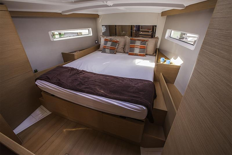 Master Stateroom of the Jeanneau Sun Odyssey 490 - photo © John Curnow