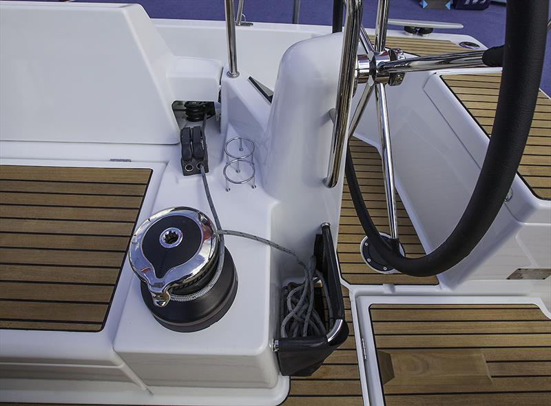 All control lines run aft to the helmer - Jeanneau Sun Odyssey 490 - photo © John Curnow
