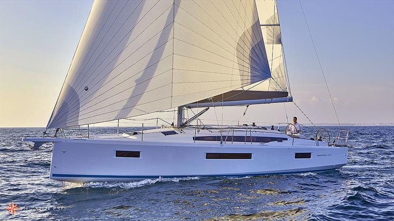 The very, very new Jeanneau Sun Odyssey 410 - photo © Jeanneau