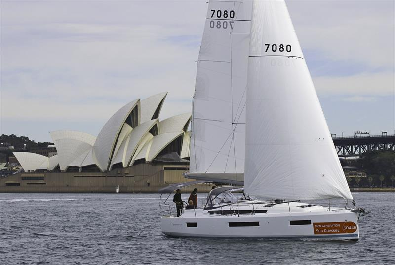 The critically acclaimed Jeanneau Sun Odyssey 440 - photo © John Curnow