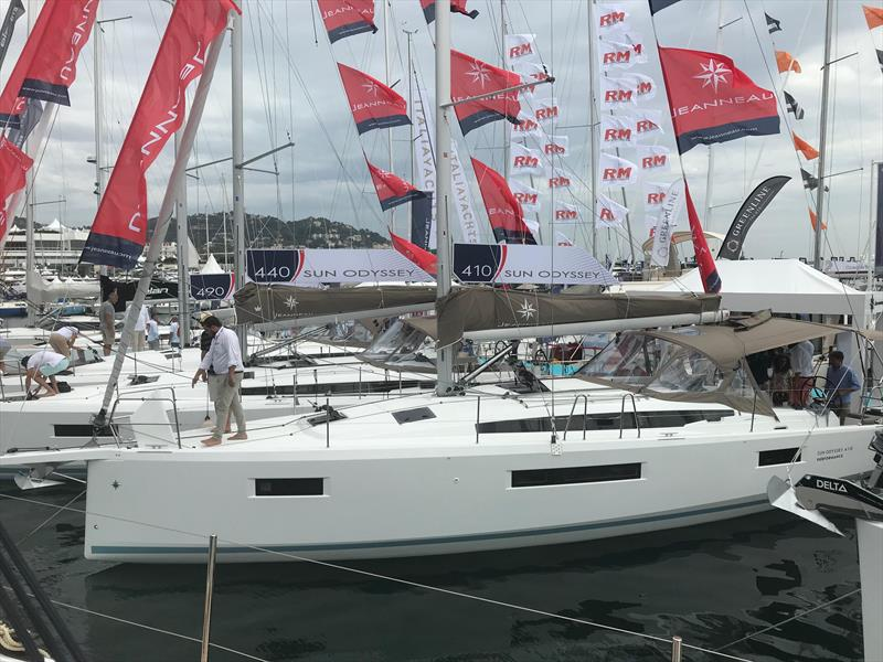 The very new Jeanneau Sun Odyssey 410 - photo © Rohan Veal