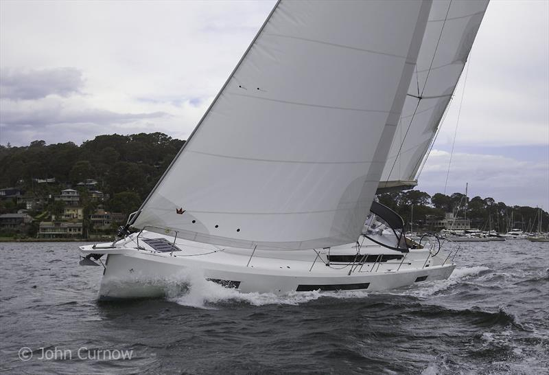 Agile, lithely and spacious below - magnificent monohull cruiser - Jeanneau Sun Odyssey 490 - photo © John Curnow