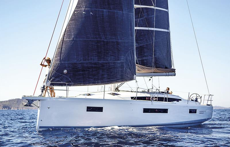 New Performance version of Jeanneau Sun Odyssey 410 - photo © Guillaume Gauter