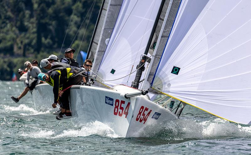 c6867dd291b4a7 Melges 24 European Sailing Series in Torbole Day 1  Consistency pays off  for Maidollis