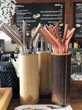 Bohemian Raw Cafe stainless steel straws © Abell Point Marina