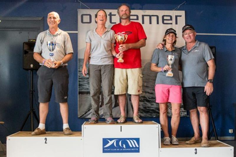 Outremer Cup 2018 - Podium - photo © Multihull Central