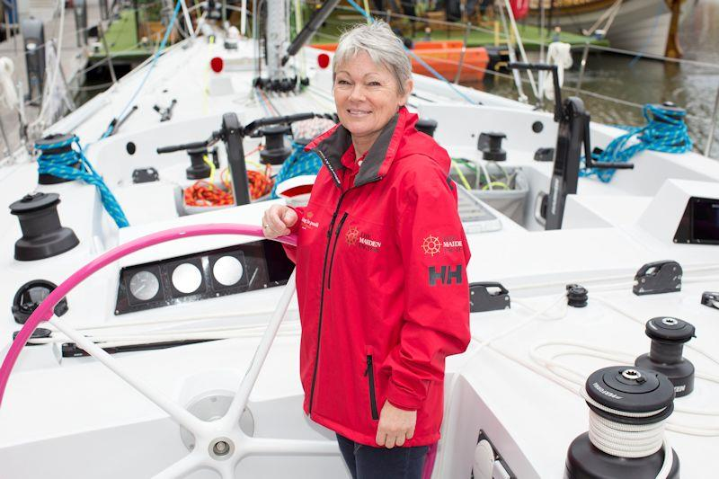 Tracy made history in 1989/90 as Skipper of the first all-female team to compete in the Whitbread Round The World Race - photo © Maiden