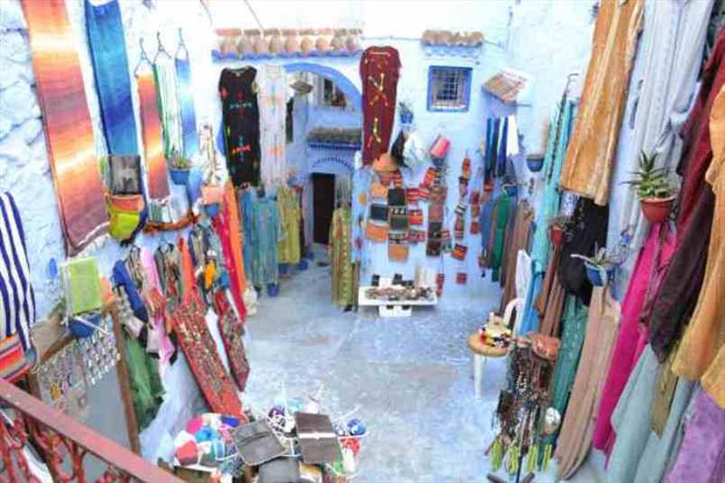 Chefchaouen medina - photo © SV Red Roo