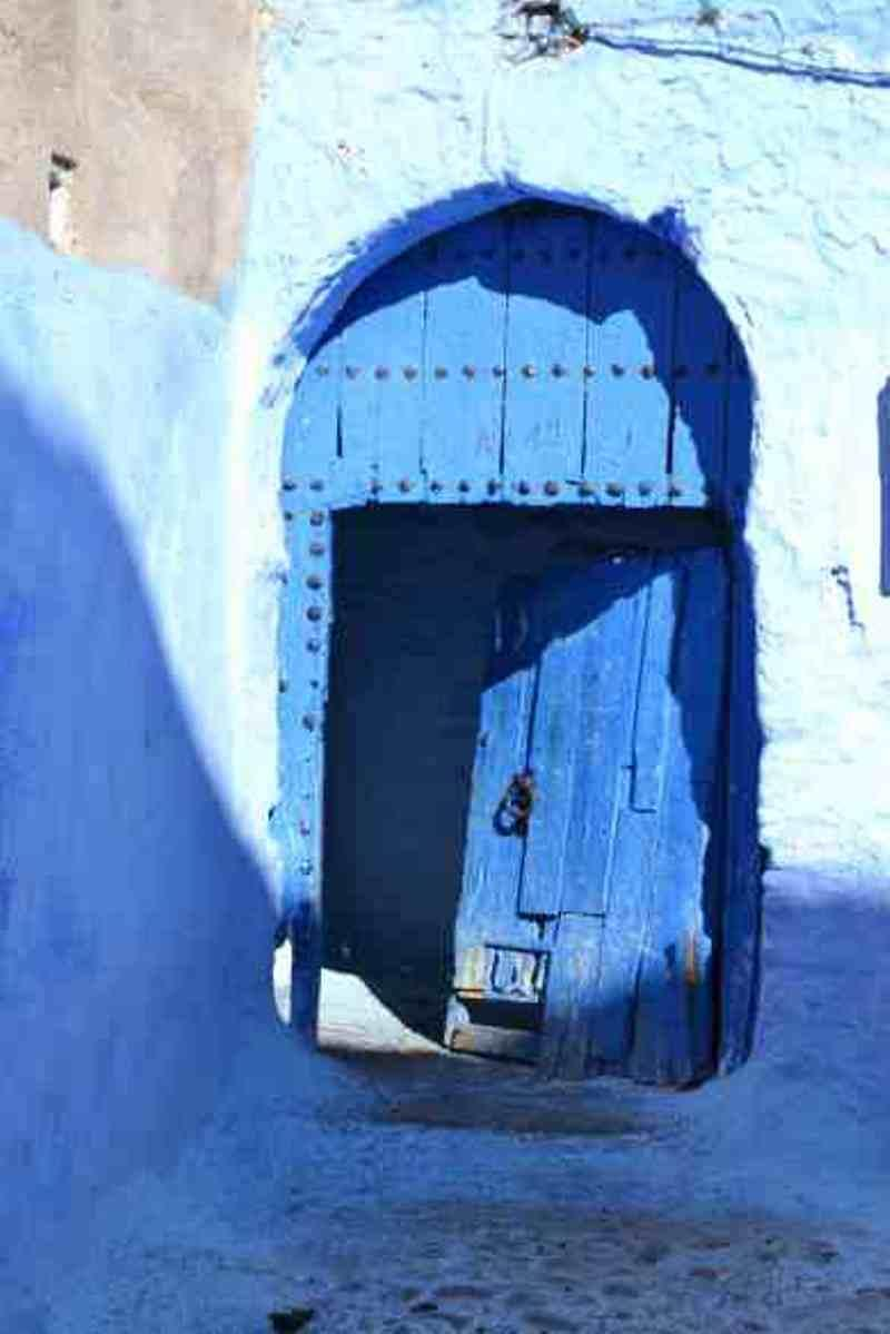 Doors of Chefchaouen - photo © SV Red Roo