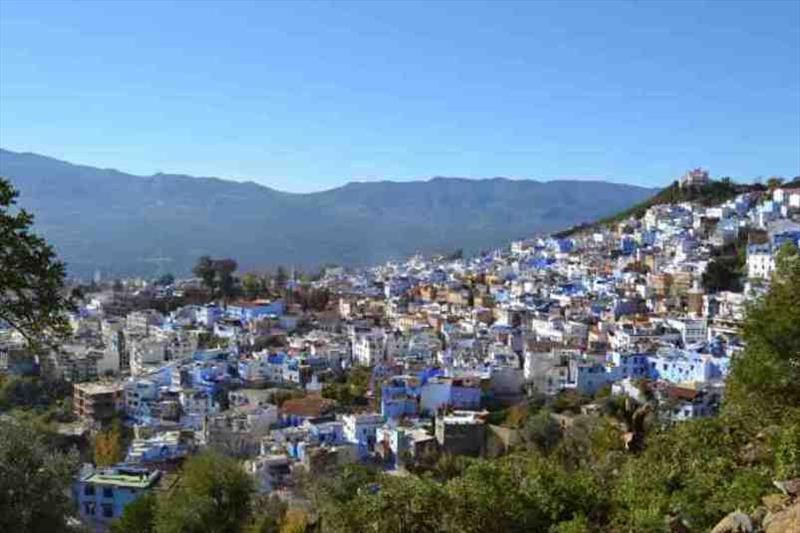 Overlooking Chefchaouen - photo © SV Red Roo