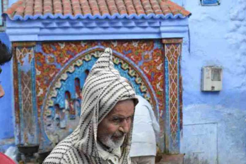 A Chefchaouen local - photo © SV Red Roo