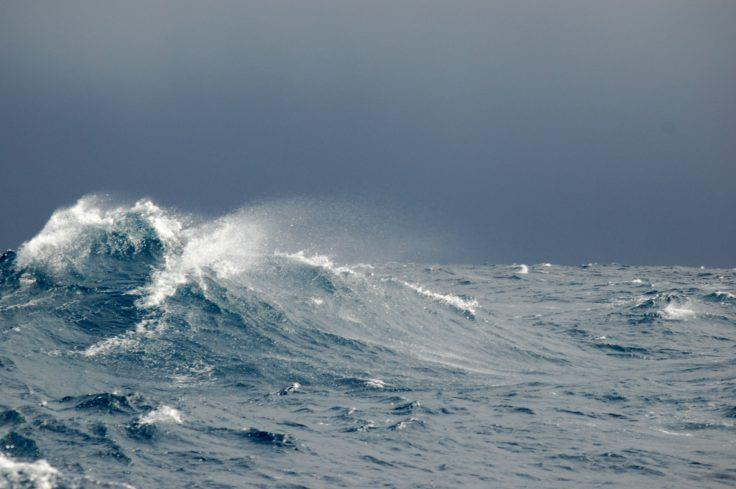 The study shows how additional meltwater will affect ocean circulation. - photo © British Antarctic Survey