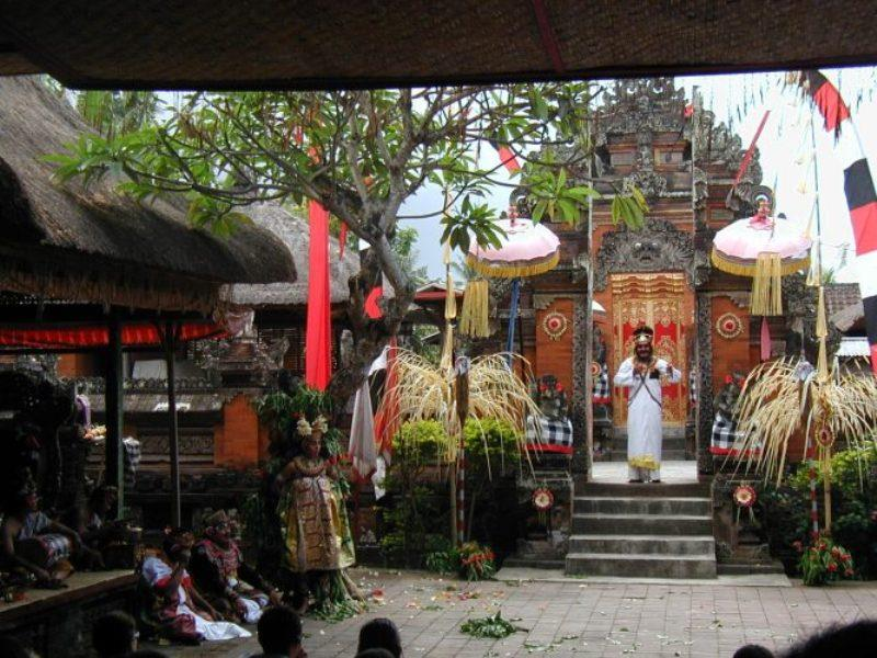 Balinese Temple - photo © Hugh & Heather Bacon