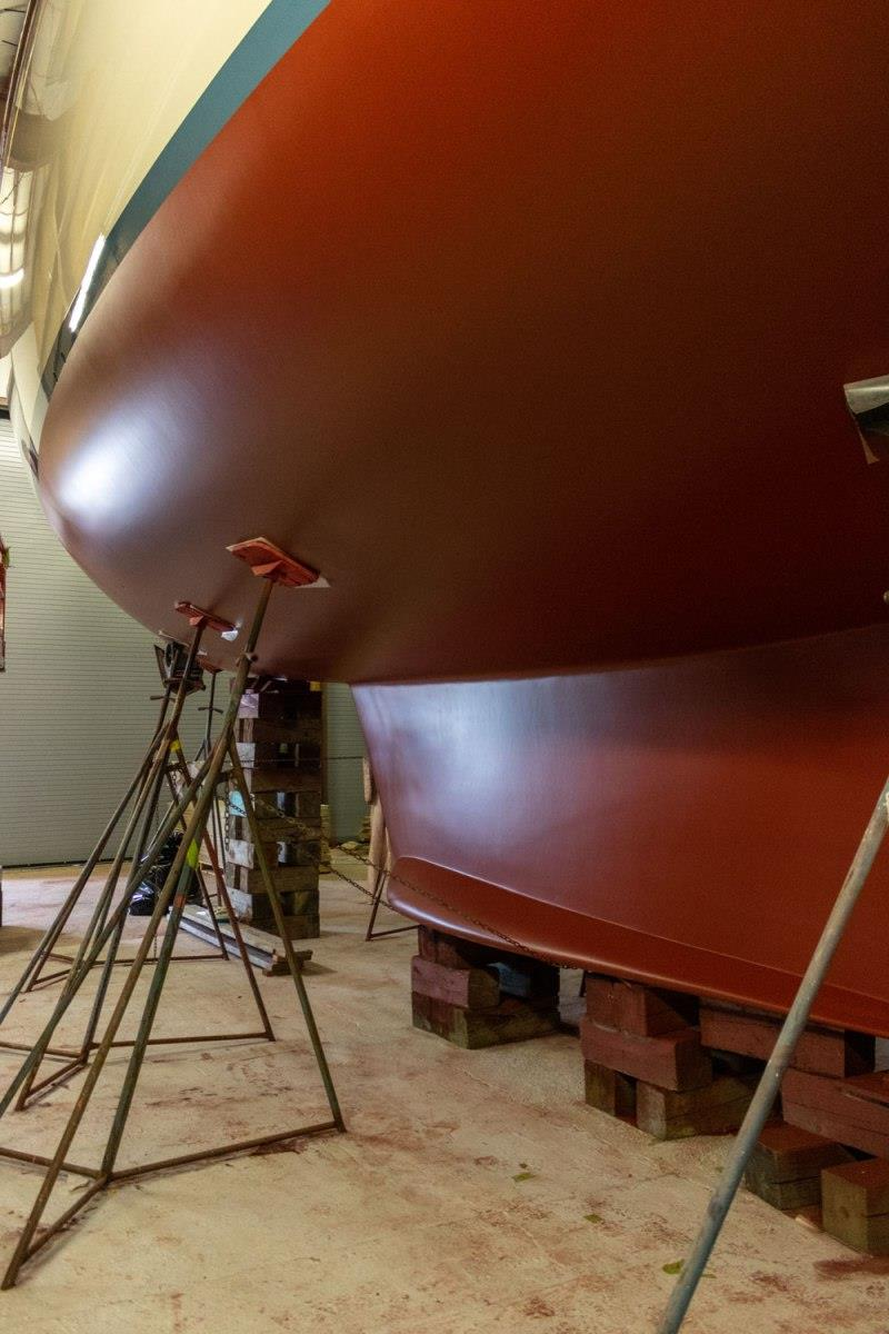 Antifouling - photo © Lyman-Morse Boatbuilding