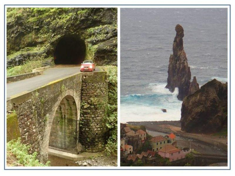 The rugged topography of Madeira Island required the construction of an impressive network of twisting roads, tunnels and bridges. The bonus for us was dramatic views from almost every point on our island tour. - photo © Rod Morris
