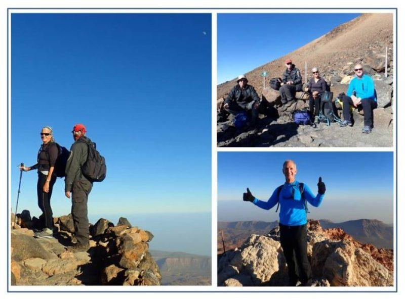Climbing Mt. Teide is an easy climb on well-maintained paths, but at that altitude it takes your breath away and not just because of incredible views! Our 2 additional crew for upcoming trans-Atlantic passage were fresh off plane complete with jet lag. - photo © Rod Morris