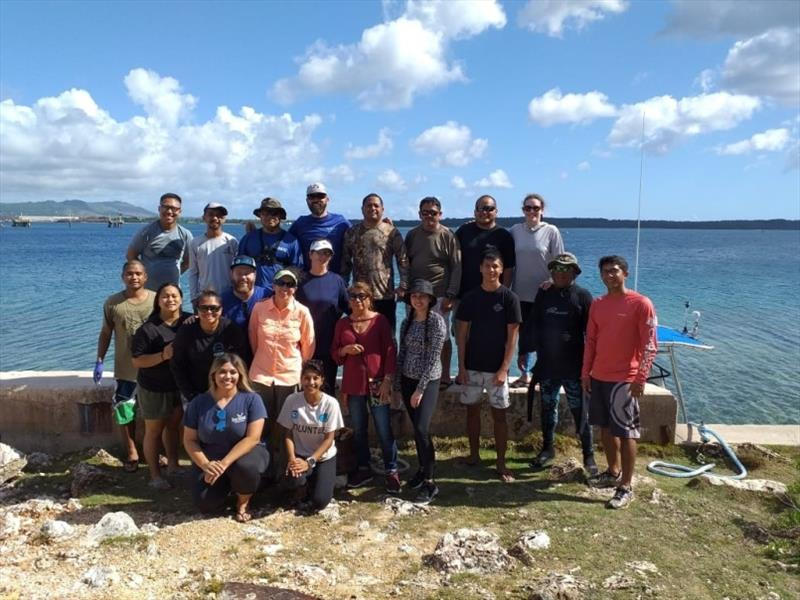 Various team members on Guam during land-based research activities. - photo © NOAA Fisheries