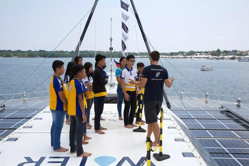 21st stopover of the Race for Water Odyssey © Race For Water