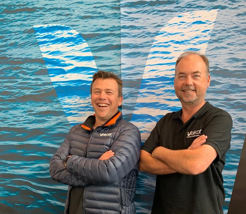 Patrick Langley and Paul Schul from Vaikobi Ocean Performance - photo © Vaikobi Ocean Performance