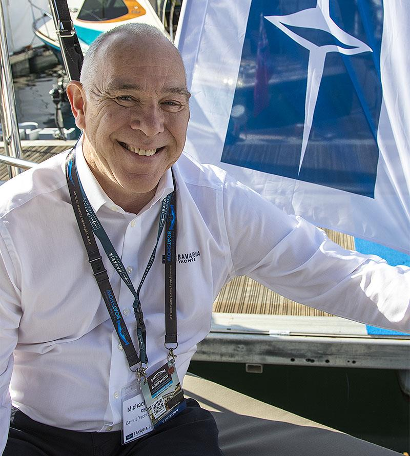 Bavaria Yachts CEO, Michael Müller at the 2019 Sydney International Boat Show - photo © John Curnow